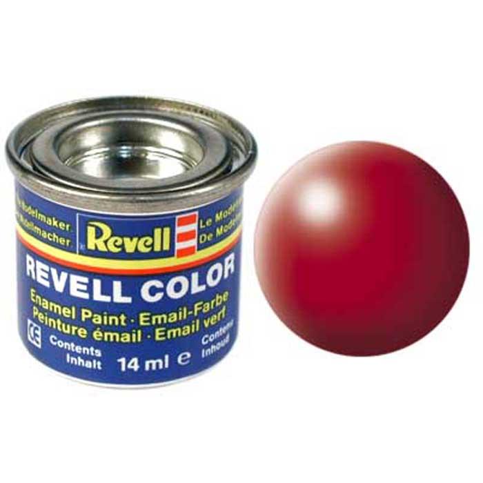 Revell Краска для моделей шелково-матовая №330 цвет огненно-красный 14 мл32330/РАЛ 3000Краска Revell идеально подойдет для раскрашивания сборных моделей. Благодаря специальному составу этой синтетической смоляной эмали обеспечивается отсутствие повреждения пластиковых поверхностей моделей. Для получения дополнительных оттенков возможно смешивание между собой различных оттенков. В качестве разбавителя применяется Revell Color Mix.