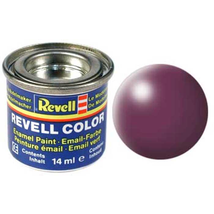 Revell Краска для моделей шелково-матовая №331 цвет пурпурно-красный 14 мл32331/РАЛ 3004Краска-эмаль Revell пурпурно-красного цвета используется для окрашивания сборных моделей Revell. Данная краска представляет собой синтетическую смоляную эмаль, которая не повреждает пластиковые поверхности сборных моделей. Все оттенки данной краски могут смешиваться друг с другом для получения дополнительных тонов. Краска упакована в экономичную банку, что позволяет экономично ее расходовать, а после использования банку можно закрыть крышкой, чтобы избежать высыхания.
