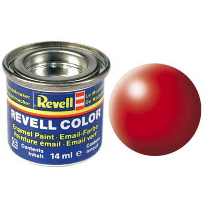 Revell Краска для моделей шелково-матовая №332 цвет светящийся красный 14 мл