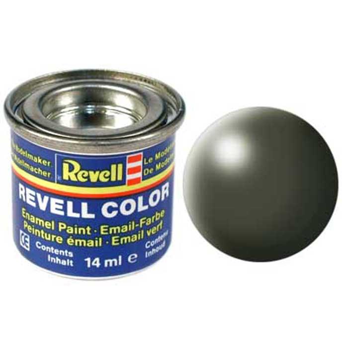 Revell Краска для моделей шелково-матовая №361 цвет оливково-зеленый 14 мл32361/РАЛ 6003Краска-эмаль Revell оливково-зеленого цвета предназначена для окраски сборных моделей Revell. Благодаря своему особому составу, она совершенно безопасна для пластиковых поверхностей сборных моделей. Для смешивания друг с другом различных оттенков краски применяется специальный разбавитель Revell Color Mix. Краска упакована в экономичную банку, что позволяет экономично ее расходовать, а после использования банку можно закрыть крышкой, чтобы избежать высыхания.