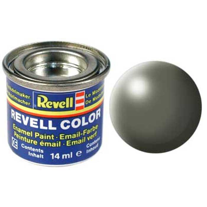Revell Краска для моделей шелково-матовая №362 цвет камышово-зеленый 14 мл32362/ РАЛ 6013Краска-эмаль Revell идеально подойдет для раскрашивания сборных моделей. Краска представляет собой синтетическую смоляную эмаль, которая не повреждает изготовленные из пластика поверхности моделей. При помощи разбавителя Revell Color Mix можно смешивать между собой различные оттенки краски для получения дополнительных тонов. Краска хранится в металлической баночке с плотной крышкой.