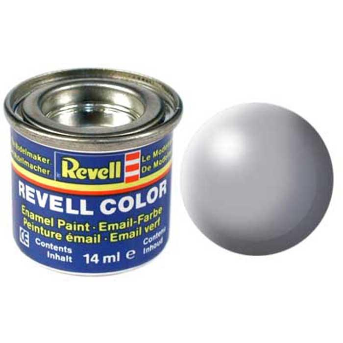 Revell Краска для моделей шелково-матовая №374 цвет серый 14 мл32374/РАЛ 7001Краска-эмаль Revell серого цвета предназначена для окрашивания масштабных сборных моделей Revell. Различные оттенки эмали могут смешиваться между собой для получения необходимого тона при помощи разбавителя Revell Color Mix. Данная синтетическая смоляная эмаль не повреждает поверхности моделей, изготовленных из пластика. Краска упакована в экономичную банку, что позволяет экономично ее расходовать, а после использования банку можно закрыть крышкой, чтобы избежать высыхания.