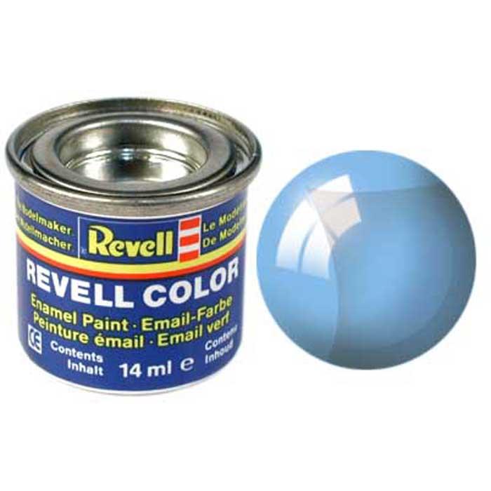 Revell Краска для моделей Revell прозрачная цвет голубой 14 мл