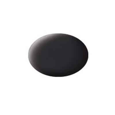 Аква-краска для моделей Revell, матовая, №06, цвет: черная смола36106Эмалевая, матовая аква-краска для моделей Revell цвета черной смолы, служит для окрашивания пластиковых поверхностей сборных моделей. В случае необходимости, различные оттенки эмали могут быть смешаны друг с другом, для разбавления используется Revell Color Mix. Краска упакована в экономичную пластиковую коробочку, что позволяет экономично ее расходовать, а после использования коробочку можно закрыть крышкой, чтобы избежать высыхания.