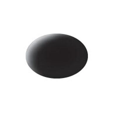 Revell Аква-краска матовая цвет черный