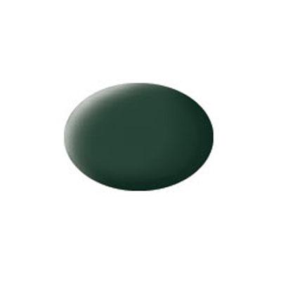 Revell Аква-краска эмалевая матовая цвет темно-зеленый 18 мл36168Эмалевая, матовая аква-краска темно-зелёного цвета. Данная краска служит для окрашивания пластиковых поверхностей сборных моделей Revell. В банчоке содержится 18 мл. матовой краски темно-зелёная цвета. В случае необходимости различные оттенки эмали могут быть смешаны друг с другом, для разбавления используется Revell Color Mix.