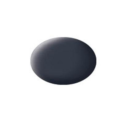 Revell Аква-краска матовая цвет черно-серый