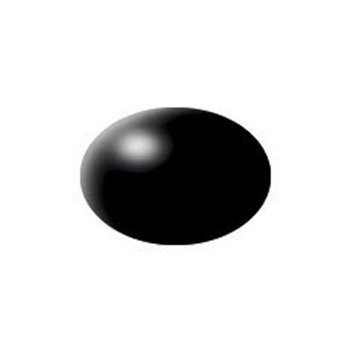 Revell Аква-краска цвет черный шелк