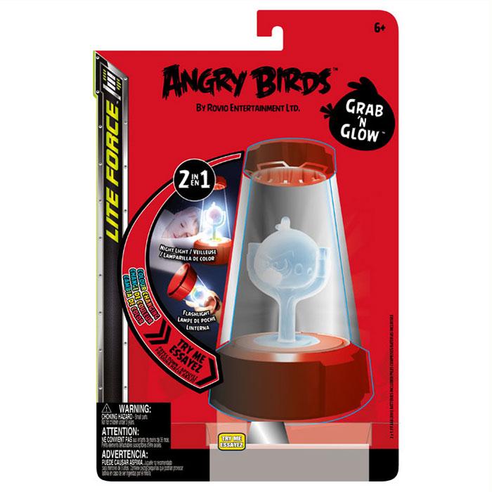 Ночник-фонарик Angry Birds, 2в1817758375591/37559Ночник-фонарик Сердитые птички - обязательный атрибут детской комнаты. Его мягкий свет успокаивающе действует на малышей, которые боятся темноты, не напрягая детские глазки и не создавая излишнего светового излучения. При этом его света достаточно, чтобы легко ориентироваться в темноте. Ночник выполнен в виде прозрачного конуса, внутри которого расположена фигурка птички, выполненная в виде персонажа всеми любимой компьютерной игры Angry Birds, меняющая цвета. Ночник также можно использовать как фонарик.