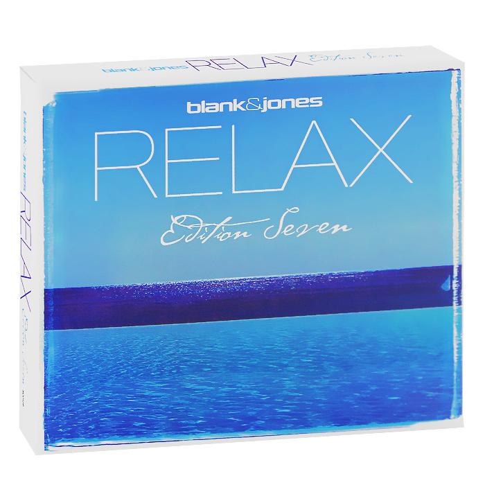 Blank & Jones. Relax Edition Seven (2 CD) 2012 2 Audio CD
