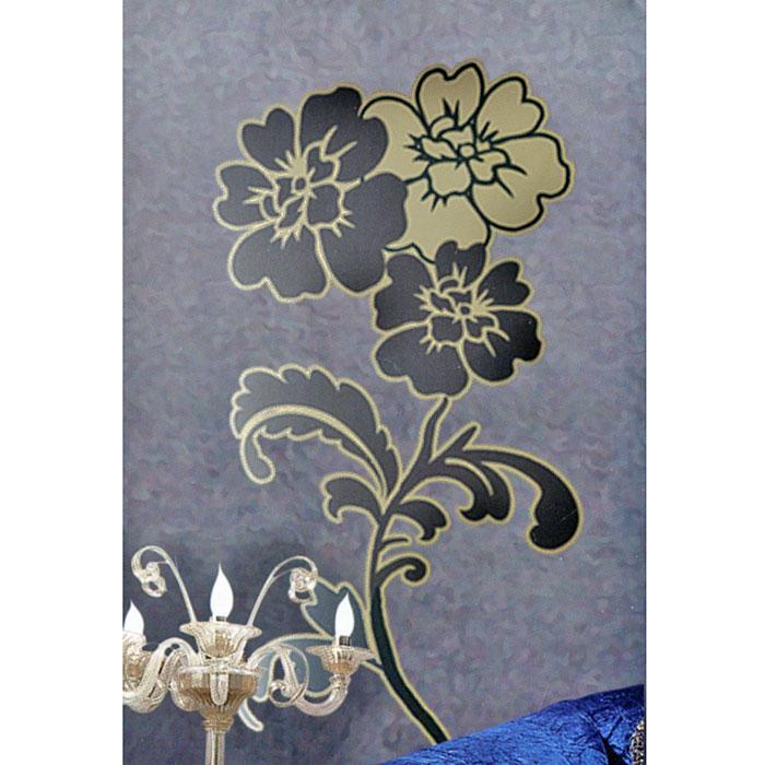 Декоративное настенное украшение Цветы, 33,5 х 52 см 2663126631Декоративное настенное украшение Цветы поможет украсить дом и внести оригиналный штрих в интерьер. Цветочный орнамент нанесен на прозрачную пленку. С помощью такого украшения вы сможете оживить интерьер по своему вкусу. Характеристики: Материал: пленка ПВХ. Размер украшения: 33,5 см х 52 см. Изготовитель: Тайвань. Артикул: 26631.
