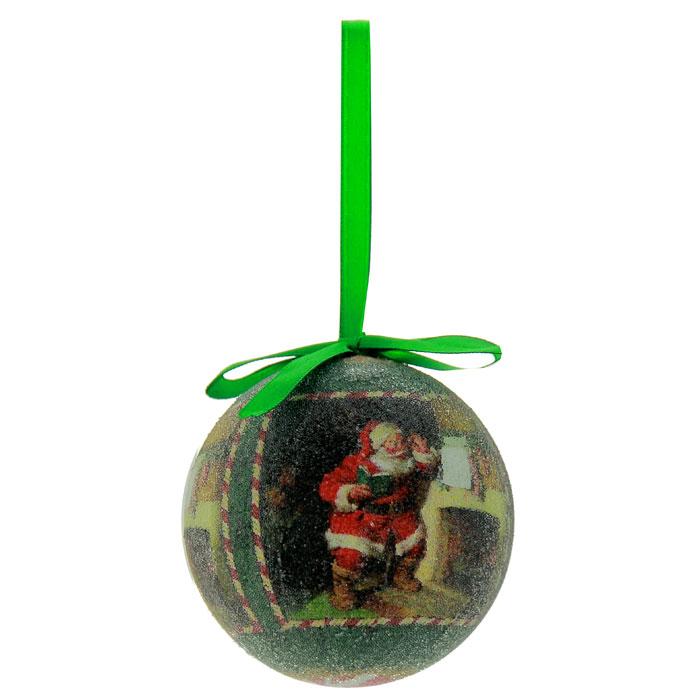 Набор подвесных новогодних украшений Шары, цвет: зеленый, 6 шт. Ф21-2152Ф21-2152Набор подвесных украшений Шары украсит новогоднюю елку и создаст теплую и уютную атмосферу праздника. В набор входят 6 шаров, выполненных из пластика зеленого цвета и оформленных изображением Санта Клауса. Шарики упакованы в пластиковую коробку. Елочная игрушка - символ Нового года. Она несет в себе волшебство и красоту праздника. Создайте в своем доме атмосферу веселья и радости, украшая всей семьей новогоднюю елку нарядными игрушками, которые будут из года в год накапливать теплоту воспоминаний. Характеристики: Материал: пластик, текстиль. Диаметр шара: 7,5 см. Размер упаковки: 22,5 см х 7 см х 15 см. Изготовитель: Китай. Артикул: Ф21-2152.