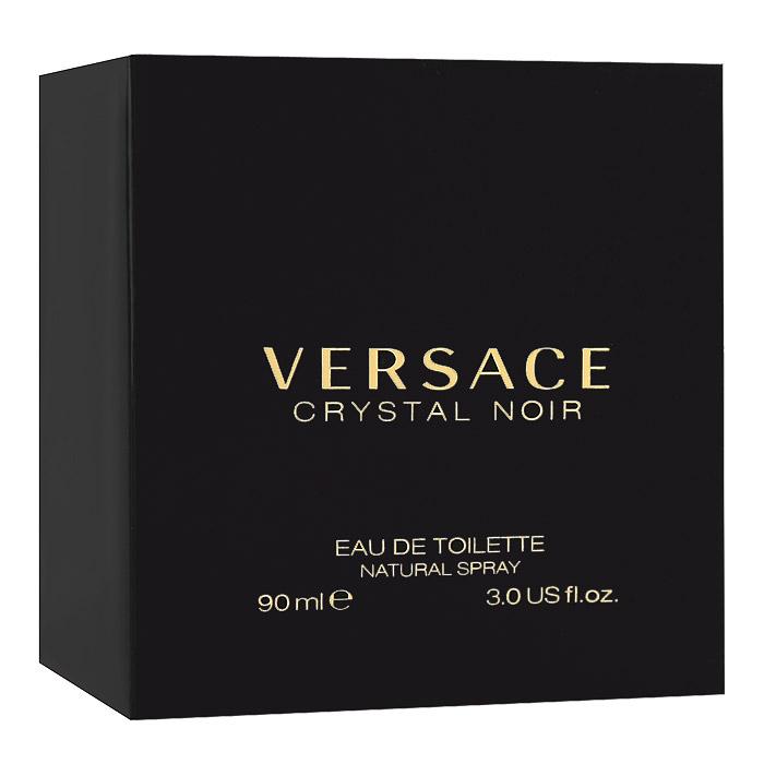 Versace Туалетная вода Crystal Noir, 90 мл07146Crystal Noir - это магический аромат: неземной и одновременно чувственный. Дорогой, изысканный и стойкий, завораживающий вечной женственностью цветочных и восточных нот. Аромат, достойный красной ковровой дорожки, многогранный как бриллиант, чувственный и завораживающий, смелый и в то же время гармоничный. Уникальный аромат, вдохновленный виртуозностью и креативностью дома Versace и его современной интерпретацией роскоши. Верхние ноты: Кардамон, Перец, Имбирь; Средние ноты: Гардения, Пион, Цветы апельсина; Базовые ноты: Амбра, Сандаловое дерево, Мускус