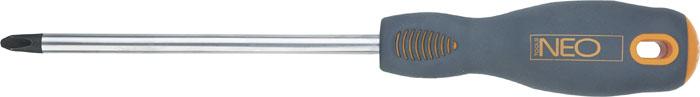 Отвертка крестовая Neo, PН0 x 75 мм04-021Отвертка крестовая Neo предназначена для монтажа/демонтажа резьбовых соединений. Имеет удобную ударопрочную ручку и магнитный наконечник.