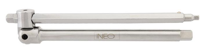 Вороток Neo, универсальный08-566Вороток Neo предназначен для закрепления в нем торцевых головок.