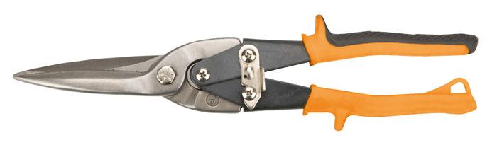 Ножницы по металлу Neo, прямые, 29 см31-061Ножницы по металлу Neo изготовленные из инструментальной стали, с двухрычажной системой для облегчения реза предназначены для прямого реза листового металла. Насечки на режущих кромках не позволяют обрабатываемому материалу выскальзывать. Для удобства хранения и транспортировки имеется запорный механизм, который удерживает режущие кромки ножниц в закрытом положении.