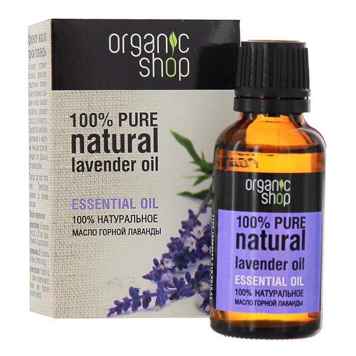 Organic Shop Эфирное масло горной лаванды, 30 мл0861-11874100% натуральное эфирное масло горной лаванды Organic Shop успокаивает, устраняет бессонницу, депрессию и отрицательные эмоции. Аромат внутреннего созидания и покоя помогает расслабиться, развивает стрессоустойчивость. Подходит для самосовершенствования и медитации. Уменьшает агрессию, улучшает сон. Идеально для ароматерапии. Подходит для всех типов кожи, превосходно ухаживает за ломкими волосами. Использование: Ароматерапия: 5-6 капель смешать с 20 мл. воды, применять в аромалампе. Аромаванны: 8-10 капель добавить в ванну, принимать 15-20 минут. Косметология: 1 капля масла на 5 грамм косметического крема или базового жирного масла.