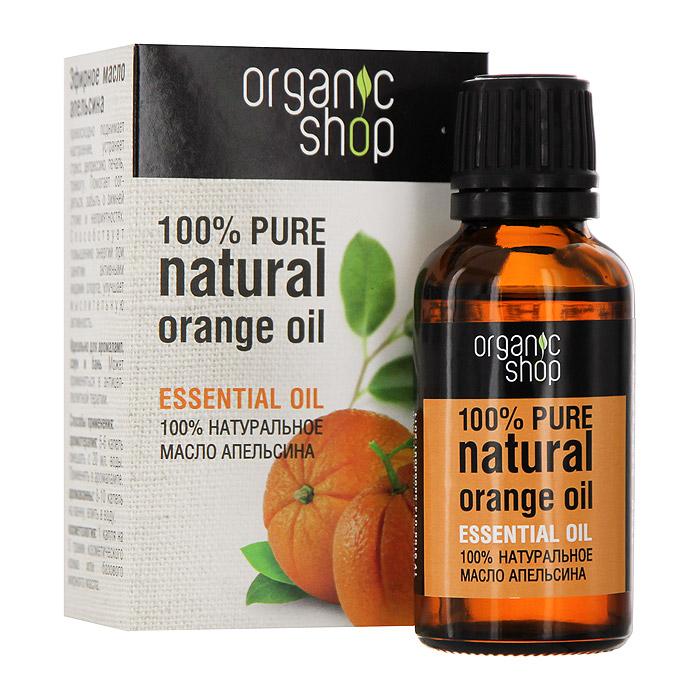 Organic Shop Эфирное масло апельсина, 30 мл0861-11850100% натуральное эфирное масло апельсина Organic Shop устраняет астению, тревожность, угнетенность, осенне-весенние обострения депрессии, синдром ожидания неудачи, подавленность после перенесенных болезней и травм. Нормализует цикл сна и бодрствования, повышает продуктивность релаксации. Помогает восстановить баланс эмоций при недостатке самообладания. Использование: Ароматерапия: 5-6 капель смешать с 20 мл. воды, применять в аромалампе. Аромаванны: 8-10 капель добавить в ванну, принимать 15-20 минут. Косметология: 1 капля масла на 5 грамм косметического крема или базового жирного масла. Характеристики: Объем: 30 мл. Производитель: Россия. Артикул: 0861-11850. Товар сертифицирован.