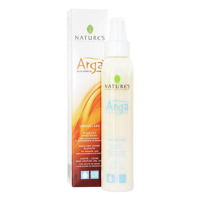 "Nature's Молочко для тела после загара ""Arga"", 150 мл"