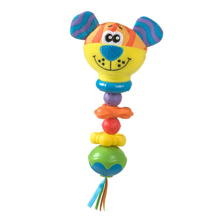 Игрушка-погремушка Playgro Тигр0182256Игрушка-погремушка Playgro Тигр не позволит скучать вашему малышу! Погремушка выполнена из безопасного пластика с использованием текстиля, в виде яркого тигренка. Голова тигра выполнена из текстильных материалов различных цветов и фактур, а остальная часть состоит из пластиковых элементов различных форм и цветов. Ушки тигренка шуршат при прикосновении. Игрушка очень гибкая, может гнуться в любую сторону. Внутри погремушки расположены маленькие шарики, гремящие при тряске. Погремушка выполнена с учетом маленьких ручек малыша. Игрушка-погремушка Playgro Тигр поможет ребенку развить мелкую моторику рук, зрительное и слуховое восприятие, тактильные ощущения и координацию движений.