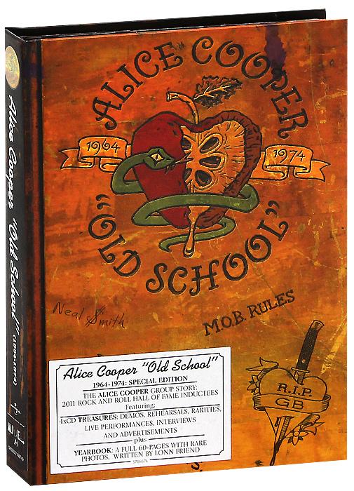 Alice Cooper. Old School 1964-1974. Special Edition (4 CD)