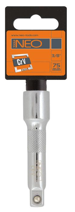 Удлинитель Neo, 1/2, 125 мм08-552Удлинитель Neo применяются для проведения слесарно-монтажных работ с резьбовыми соединениями.