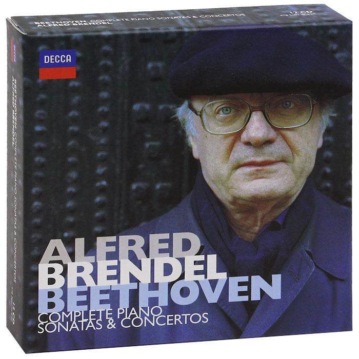 Alfred Brendel. Beethoven. Complete Piano Sonatas & Concertos (12 CD)