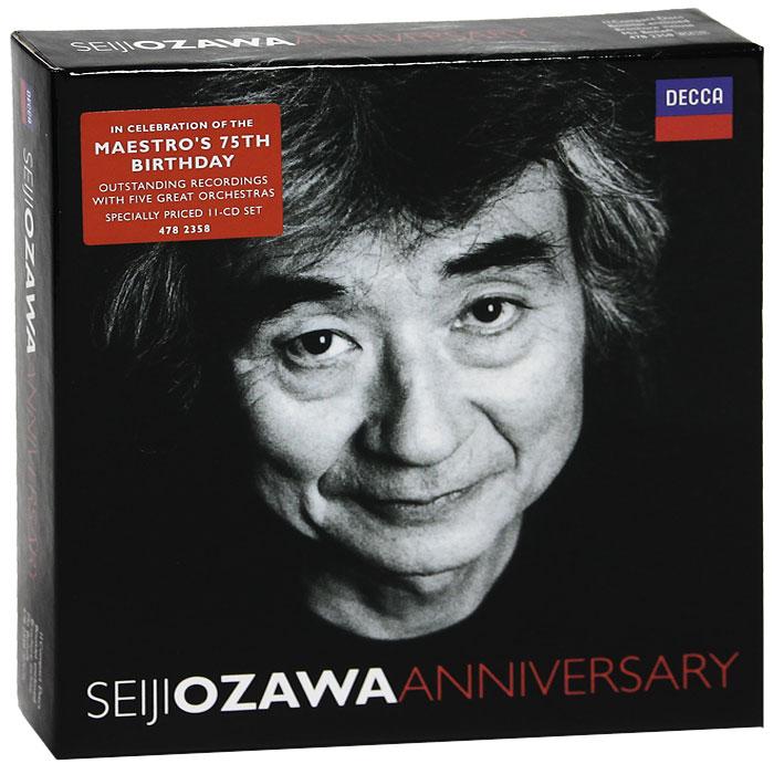 Seiji Ozawa. Anniversary (11 CD)