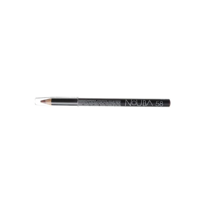 Nouba Карандаш контурный для губ Lip Pencil, тон №58, 1 гN02258Классический карандаш для губ Nouba Lip Pencil создает идеальные линии и четкие контуры. Его волшебные цвета с потрясающе устойчивым эффектом держатся в течение всего дня. Карандаш идеально подходит для чувствительной кожи губ. Пальмовое масло, глицерин - смягчает, увлажняет; Карнаубский, канделийский воски - устойчивость, легкое нанесение.