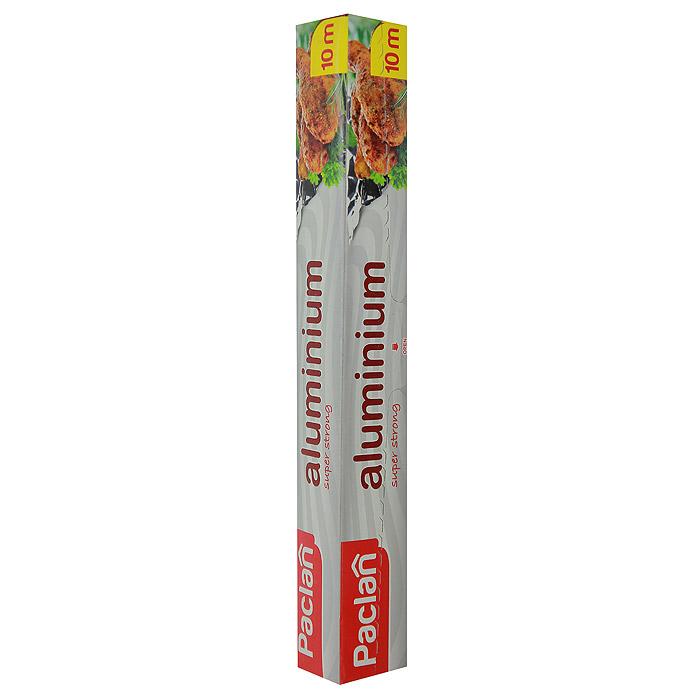 Фольга алюминиевая Paclan, 10 м13334Фольга Paclan, изготовленная из алюминия, предназначена для хранения и упаковки продуктов, а также приготовления блюд в духовке или на гриле. Она сохраняет витамины и микроэлементы, естественную свежесть, вкус и аромат пищевых продуктов. Не рекомендуется использовать для хранения влажных, кислых или соленых продуктов. Характеристики: Материал: алюминий. Размер: 10 м. Размер упаковки: 31 см х 4 см х 4 см. Производитель: Польша. Артикул: 13334.