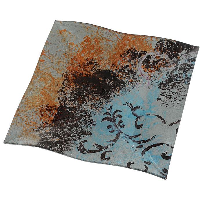 Блюдо Lillo Glass, 30 см х 30,5 см х 2,5 см1280-24Блюдо Lillo Glass изготовлено из стекла квадратной формы. Такое блюдо сочетает в себе изысканный дизайн с максимальной функциональностью. Красочность оформления придется по вкусу тем, кто предпочитает утонченность и изящность. Блюдо Lillo Glass украсит сервировку вашего стола и подчеркнет прекрасный вкус хозяина, а также станет отличным подарком.