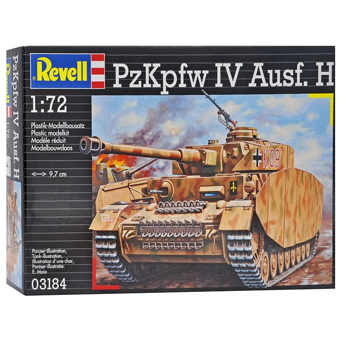 Модель для сборки Танк Panzerkampfwagen IV Ausf. H03184RМодель для сборки Танк Panzerkampfwagen IV Ausf. H позволит вам и вашему ребенку собрать уменьшенную копию известного немецкого танка. Модель для сборки развивает интеллектуальные и инструментальные способности, воображение и конструктивное мышление, прививает практические навыки работы со схемами и чертежами. Panzerkampfwagen IV (PzKpfw IV, также Pz. IV; транслитерируется как Панцеркампфваген IV; в СССР был известен также как T IV) — немецкий средний танк периода Второй мировой войны. Самый массовый танк вермахта (всего выпущено 8686 машин), выпускался серийно в нескольких модификациях с 1937 по 1945 год. Постоянно усиливавшееся вооружение и бронирование танка в большинстве случаев позволяло PzKpfw IV эффективно противостоять машинам противника аналогичного класса. Модификация Ausf. H была самой массовой из всех остальных. Отличительной особенностью была усиленная броня.