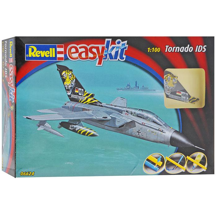 Модель для сборки Самолет Tornado06624RМодель для сборки Самолет Tornado позволит вам и вашему ребенку собрать уменьшенную копию одноименного истребителя. Для сборки этой модели клей и краски не нужны, соединение деталей происходит посредством специальных зажимов! Модель для сборки развивает интеллектуальные и инструментальные способности, воображение и конструктивное мышление, прививает практические навыки работы со схемами и чертежами. Самолет Tornado впервые произведен в 1979 году. Можность его двигателей составляет 13140 kW, максимальная скорость - 2640 км/ч.