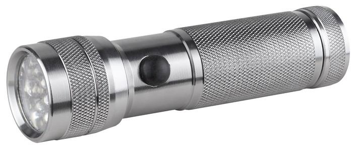 Светодиодный алюминиевый фонарь ЭРА SD14C0033483Компактный светодиодный фонарь ЭРА SD14 имеет корпус из анодированного алюминия, оснащен современными светодиодами. Будет полезен в дороге и домашнем хозяйстве. Характеристики: Материал: алюминий. Размер упаковки: 17 см х 3 см х 12 см. Размер фонаря: 12 см х 3 см х 3 см.