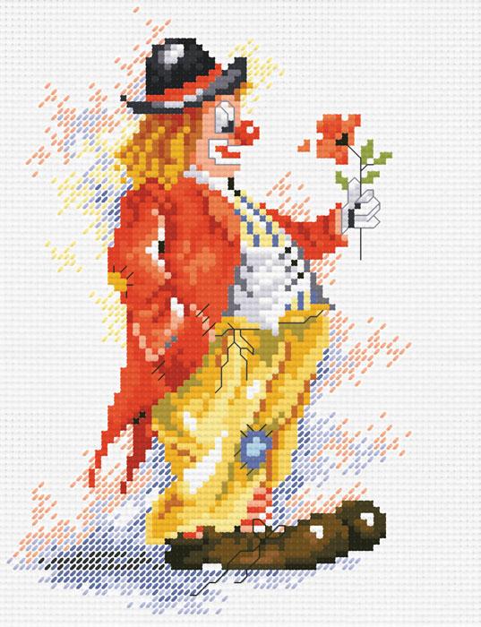 Набор для вышивания крестом Клоун с цветком, 21 х 26 см452-14В наборе для вышивания крестом Клоун с цветком есть все необходимое для создания собственного чуда: цветная символьная схема, канва Аида 14 белого цвета, нитки мулине для вышивания, 2 иголки. Красивый и стильный рисунок-вышивка, выполненный на канве, выглядит оригинально и всегда модно. Вышивание крестиком отвлечет вас от повседневных забот, и превратится в увлекательное занятие! Работа, сделанная своими руками, создаст особый уют и атмосферу в доме, и долгие годы будет радовать вас и ваших близких.