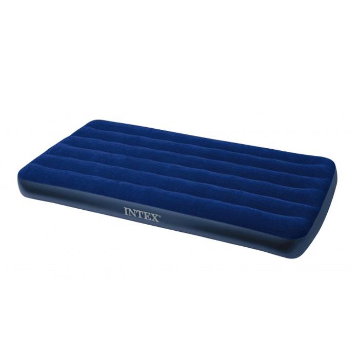 Матрас надувной Intex Royal, 99 см х 191 см х 22 см68757Матрас флокированный Royal. Надувная кровать INTEX - это действительно кровать на все случаи жизни. Она прекрасно подойдёт для использования дома в качестве дополнительного спального места. К Вам приехал гость, прекрасно, спальное место уже готово, только добавьте воздух! Если Вы собираетесь в поездку на дачу, в поход, на пикник, то такая надувная кровать окажется очень кстати - Вы прекрасно отдохнёте на ней и днём, и ночью, а оказавшись на водоёме, сможете использовать её на воде, ведь она создана и для этого. Гарантия производителя: 30 дней. Характеристики: Материал: ПВХ. Максимальная нагрузка: 136 кг. Размер матраса: 99 см х 191 см х 22 см. Размер упаковки: 31 см х 8 см х 28 см.