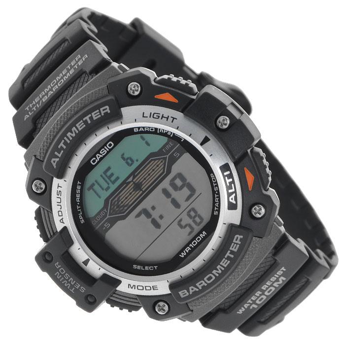 Наручные часы Casio SGW-300H-1ASGW-300H-1AМужские часы Casio SGW-300H для занятий спортом.
