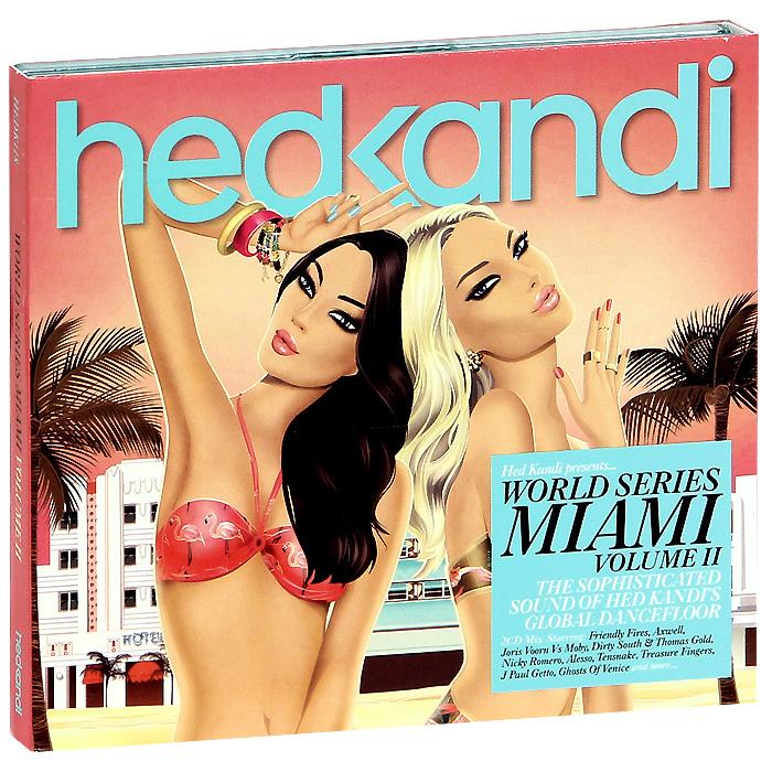 Hed Kandi. World Series Miami Volume 2 (2 CD) 2012 2 Audio CD