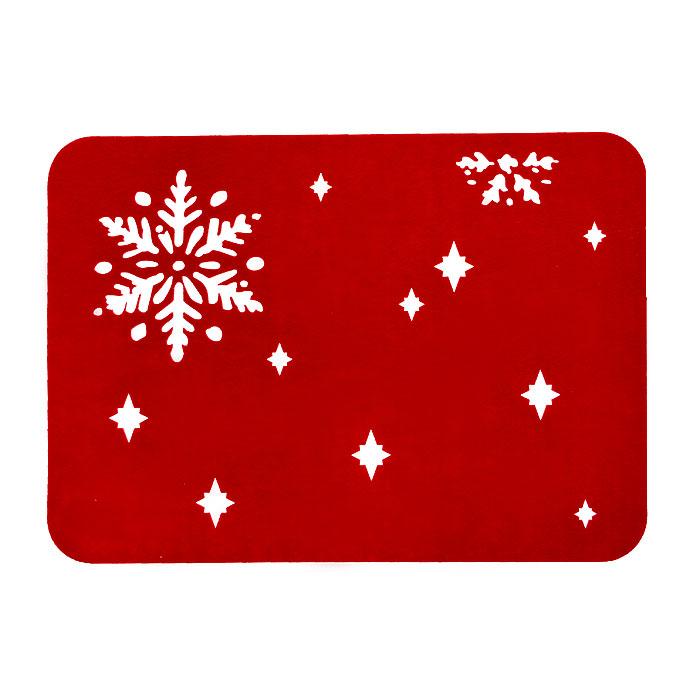Салфетка House & Holder, цвет: красный. LS109202RLS109202RПрямоугольная салфетка House & Holder, выполненная из фетра красного цвета, оформлена перфорацией снежинки и звездочек. Оригинальный дизайн салфетки идеально дополнит интерьер вашего дома. Характеристики: Материал: фетр. Цвет: красный. Размер: 42 см х 30 см х 0,3 см. Артикул: LS109202R.