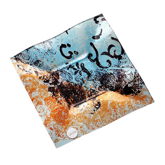 Блюдо Lillo Glass, 25 см х 1,5 см х 25,5 см1280-34Блюдо Lillo Glass изготовлено из стекла квадратной формы. Такое блюдо сочетает в себе изысканный дизайн с максимальной функциональностью. Красочность оформления придется по вкусу тем, кто предпочитает утонченность и изящность. Блюдо Lillo Glass украсит сервировку вашего стола и подчеркнет прекрасный вкус хозяина, а также станет отличным подарком.