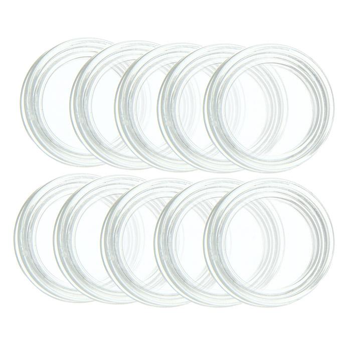 Капсулы для монет Leuchtturm, диаметр 16 мм, 10 шт334752Капсулы для монет Leuchtturm помогут сохранить каждую монету из вашей коллекции и обеспечат надежную защиту от воздействий окружающей среды. Капсулы изготовлены и высококачественного, особо устойчивого к механическим повреждениям полистирола. Плотно закрываются и в то же время легко открываются.