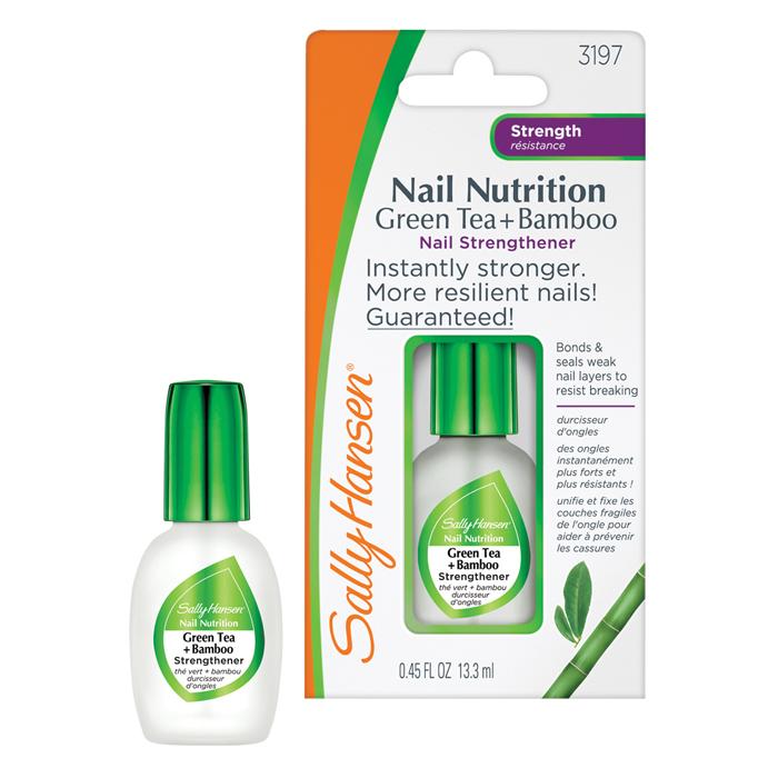 Sally Hansen Средство для укрепления слабых хрупких ногтей 2 в 1: база и верхнее покрытие Nail Nutrition, 13,3 мл