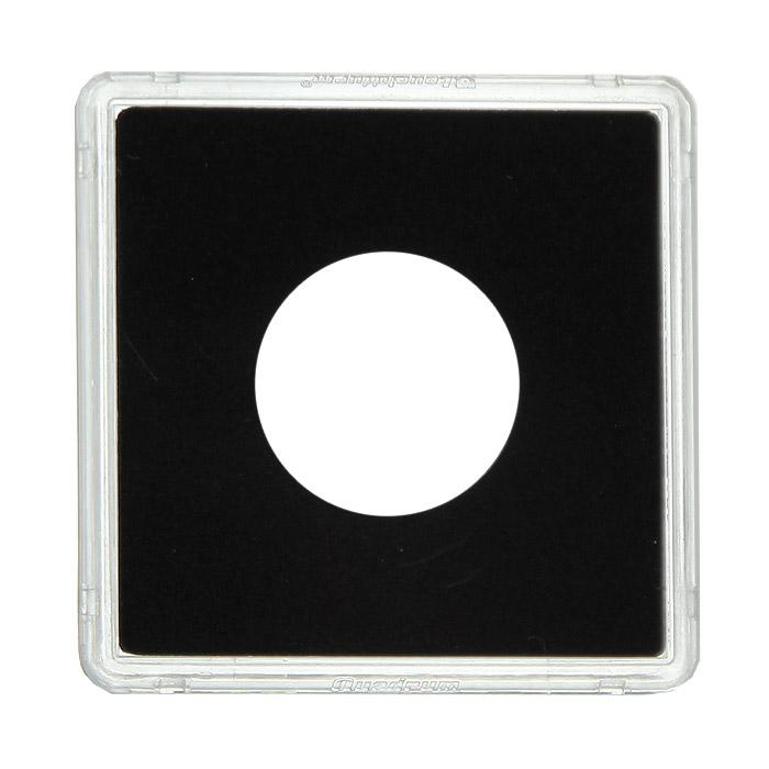 Капсулы для монет Leuchtturm Quadrum, диаметр 24 мм, 10 шт329802Благодаря капсулам Quadrum вы сможете разместить почти всю коллекцию в одной системе. Они обеспечивают оптимальную защиту каждой монеты. Капсулы, устойчивые к царапанию, выполнены из прозрачного пластика, а вкладыш, точно подходящий по размеру для всех ходовых монет, из микропенопласта. Плотно закрываются и в то же время легко открываются.