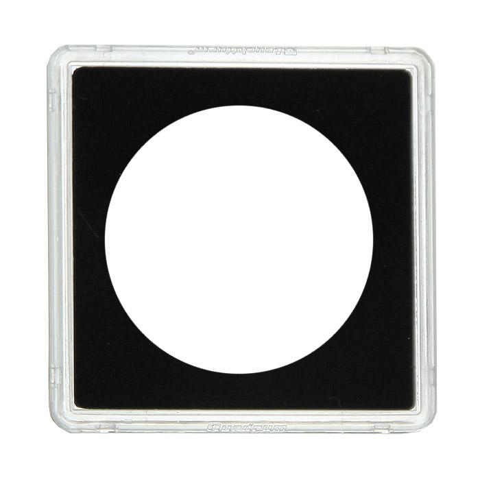 Капсулы для монет Leuchtturm Quadrum, диаметр 32 мм, 10 шт312172Благодаря капсулам Quadrum вы сможете разместить почти всю коллекцию в одной системе. Они обеспечивают оптимальную защиту каждой монеты. Капсулы, устойчивые к царапанию, выполнены из прозрачного пластика, а вкладыш, точно подходящий по размеру для всех ходовых монет, из микропенопласта. Плотно закрываются и в то же время легко открываются.