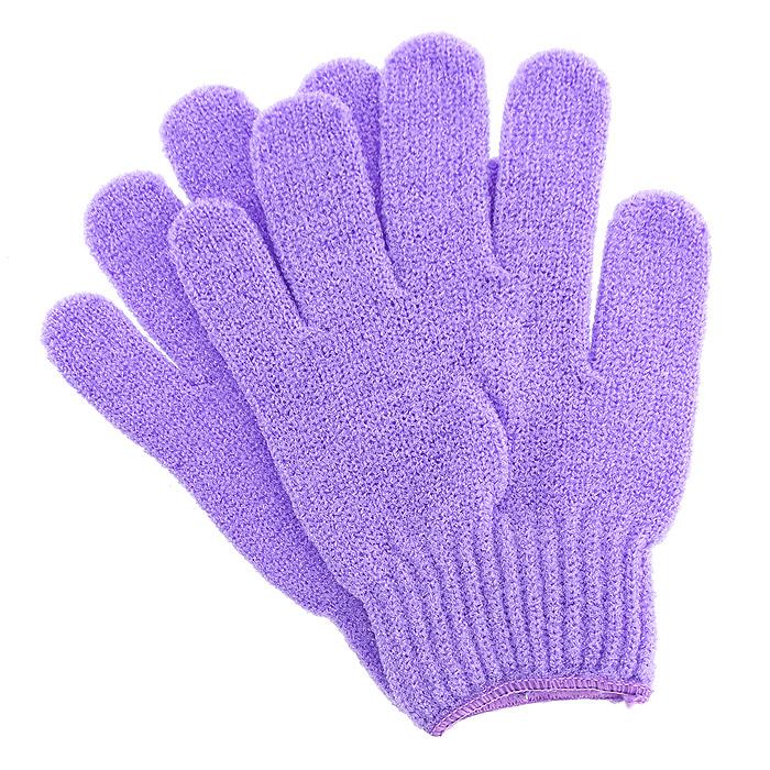 Riffi Перчатки для пилинга, цвет: сиреневый615Эластичные безразмерные перчатки Riffi обладают активным антицеллюлитным эффектом и отличным пилинговым действием, тонизируя, массируя и эффективно очищая вашу кожу. Riffi освобождает кожу от отмерших клеток, стимулирует регенерацию. Эффективно предупреждают образование целлюлита и обеспечивают омолаживающий эффект. Кожа становится гладкой, упругой и лучше готовой к принятию косметических средств. Интенсивный и пощипывающе свежий массаж тела с применением Riffi стимулирует кровообращение, активирует кровоснабжение, способствует обмену веществ. В комплекте 1 пара перчаток.