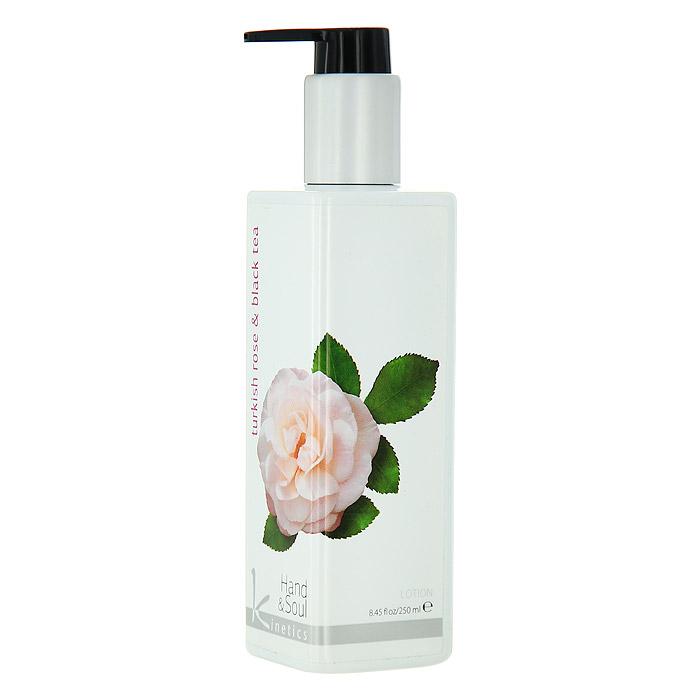 Kinetics Лосьон для рук Турецкая роза и черный чай, 250 млKL007Возбуждающая, тонизирующая, бодрящая формула, пронизывающая сиянием кожу. Верхняя нота - легкий фруктовый вкус папайи, малины и персика. Нота сердца - поистине райский сад из самых сладких цветов: роза, жасмин, гардения, сирень. Базовая нота - нежный, сладкий аромат ванили, нотки Сандалового дерева для успокоения вашей кожи и экстракт черного чая. Характеристики: Объем: 250 мл. Артикул: KL007. Производитель: Италия. Товар сертифицирован.