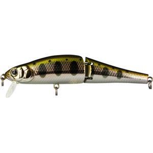 Воблер Tsuribito Joint Minnow, длина 11 см, вес 16,4 г. 110F/053110F/053Воблер Tsuribito Joint Minnow 110F первый двухсоставник бренда Tsuribito для ловли щуки. Заглубление до метра дает возможность рыболову облавливать этим воблером мелководные заливы рек и водохранилищ, а плавная игра с широкой амплитудой составной приманки не оставит без внимания даже малоактивного хищника. Характеристики: Материал: металл, пластик. Длина: 11 см. Вес: 16,4 г. Цвет тела: 053. Рабочая глубина: 0,5 - 1 м. Плавучесть - плавающий. Размер упаковки: 16,3 см х 4 см х 2,8 см. Производитель: Япония. Артикул: 110F/053.