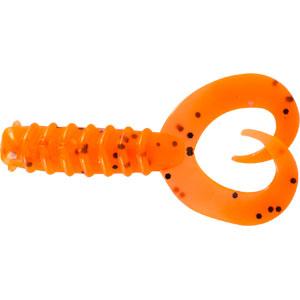 Твистер Trout Pro Diplura, длина 6 см, 10 шт. 3545835458Приманка предназначена для джиговой ловли хищной рыбы: окуня, щуки, судака. Двухвостый твистер создает визуальный объем, увеличивая эффект вибрации с помощью двух эластичных хвостов. Приманка наиболее эффективна при ловле малоактивной рыбы. Характеристики: Длина: 6 см. Цвет тела: 4 (оранжевый с черными вкраплениями). Материал: эластичный полимер. Размер упаковки: 16,5 см х 14,4 см х 1 см. Производитель: Китай. Артикул: 35458.