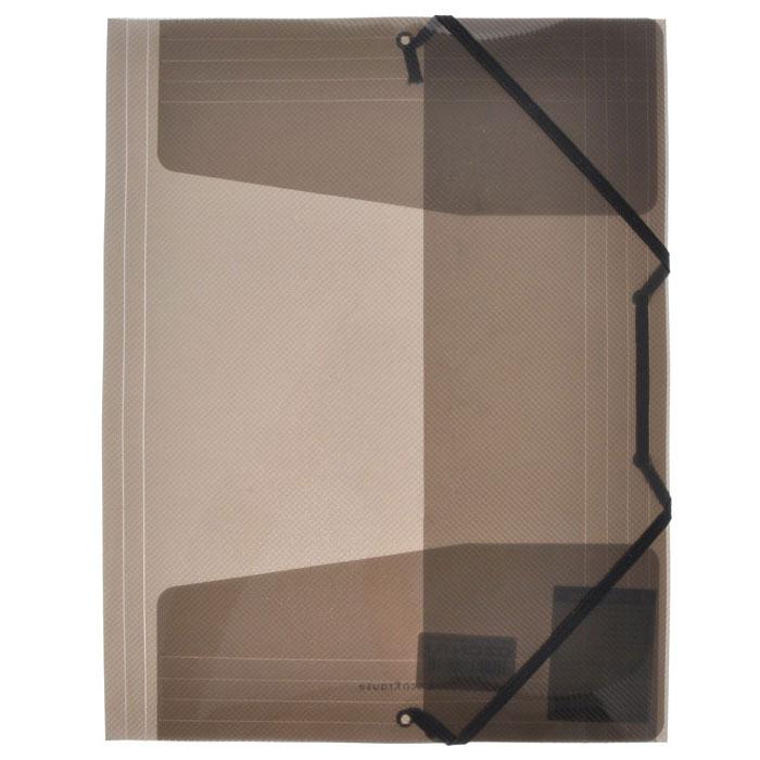 """Папка на резинке Erich Krause """"Diagonal"""", цвет: черный"""