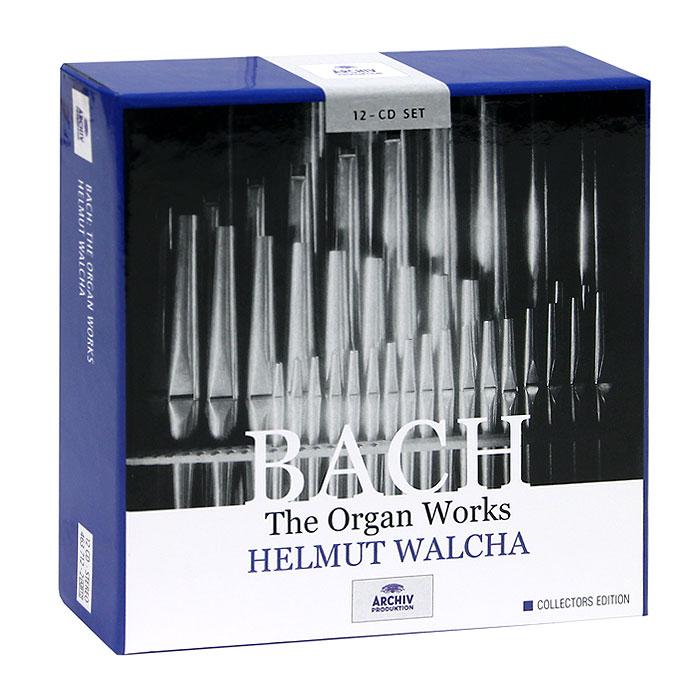 Helmut Walcha. Bach. The Organ Works (12 CD)